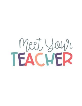 Let's Meet Our Teachers Tomorrow!