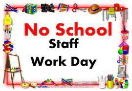 Friday, September 17, is a staff development day. Students do not attend school.