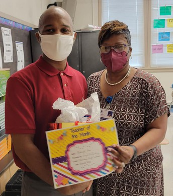 August 2021 Teachers/Staff of the Month