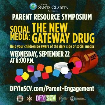 Parent Resource Symposium - Social Media: The New Gateway Drug