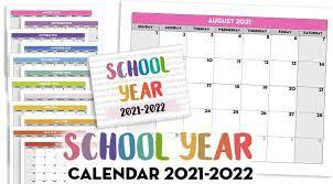 School Year at a Glance