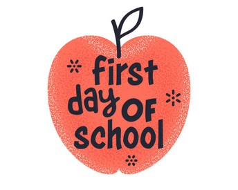 First Day of School Photos!