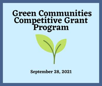 Green Communities Competitive Grant Program