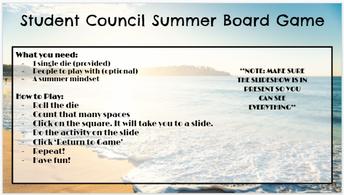 Summer Board Game