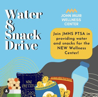 PTSA Water and Snack Drive
