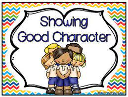 September's Character Focus I Can Control My Behavior