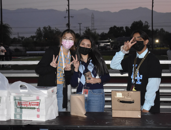 ASB brought the donuts!