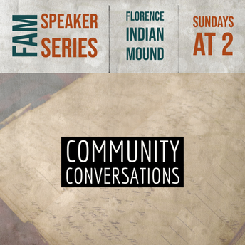 FLORENCE ARTS AND MUSEUMS SPEAKER SERIES