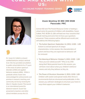 Online Parent Training Series- Page 1