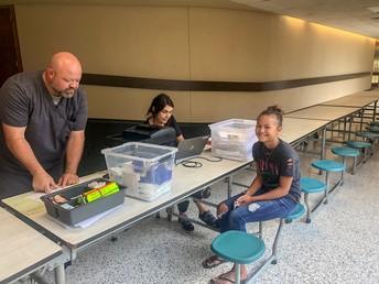 Spring Hill ISD Hosts Student Immunization Clinic