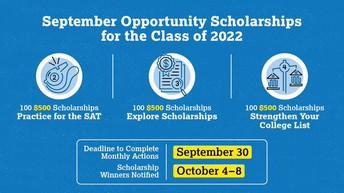 Class of 2022 - Scholarship Opportunities