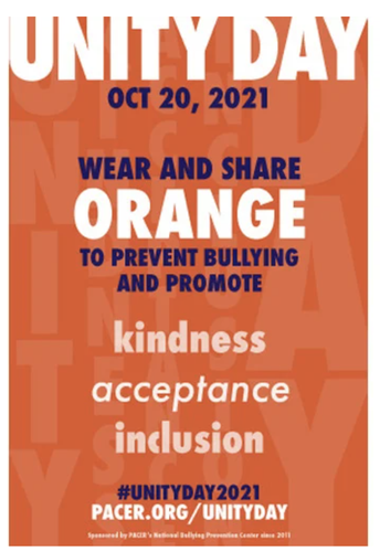Unity Day - Wednesday, October 20th!