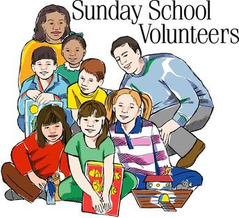 SUNDAY SCHOOL HELPERS WANTED
