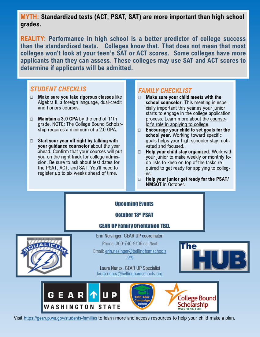 Gear Up Newsletter page 2