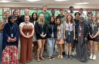 STEAM program assistants provide student support