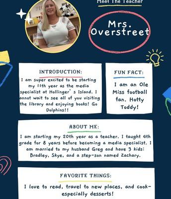 Mrs. Overstreet, Media/Tech Support