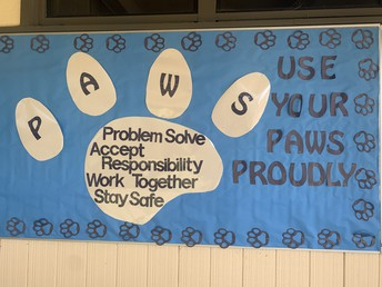 Using our PAWS proudly