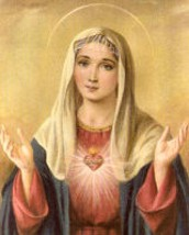 August is the Month of The Immaculate Heart of Mary