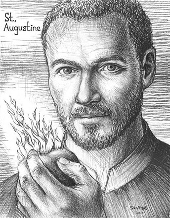 Saint Augustine: Feast Day  - August 28
