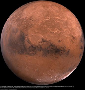 Grades 3-5 Mission to Mars!