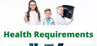 Student Health Requirements 21-22 (Final Running of this Article)