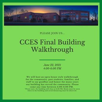 CCES Final Building Walkthrough