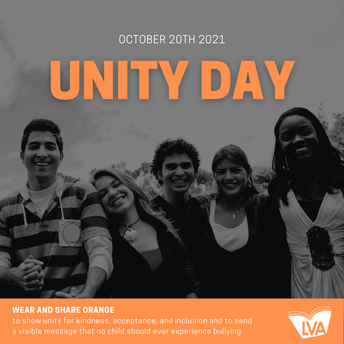 Unity Day - Wednesday, October 20, 2021