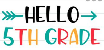 Fifth Grade News!!