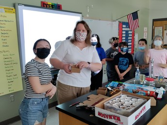 Science class!
