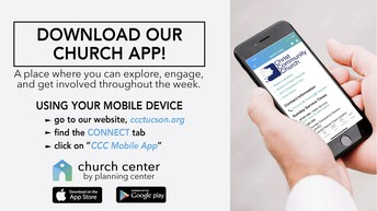 DOWNLOAD OUR NEW CCC APP TODAY!