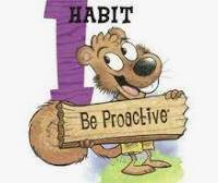 Leader in Me Habit 1 - Be Proactive