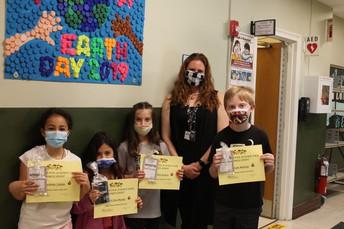 4th Grade Science Fair Participants