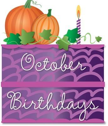 October 15-31 Birthdays