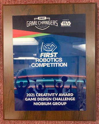 Robóticas en la Escuela Preparatoria Highland - Premio a la Creatividad