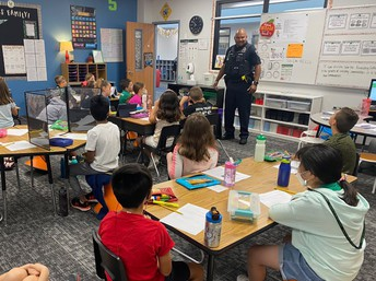 Visits with Officer Page