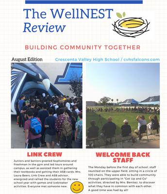 August 2021 WellNEST Review Newsletter