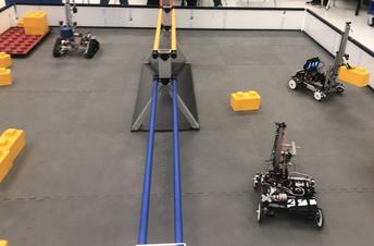 Robots maneuvering
