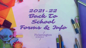 Back to School Info and Forms are now available online