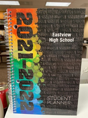 New: 2021-22 Eastview Student Planners