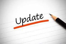 Welcome & Updates