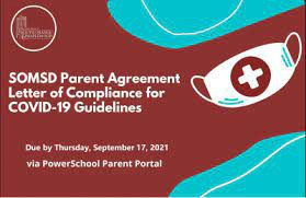 2021-22 Covid-19 Parent Agreement - Due by September 17