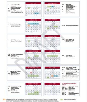 Calendar Option #3