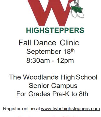 TWHS Highsteppers Fall Dance Clinic