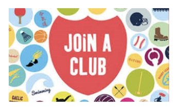 SIGN UP FOR EXTRACURRICULAR CLUBS AND ELECTIVES