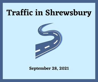 Traffic in Shrewsbury