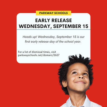 Early release on September 15