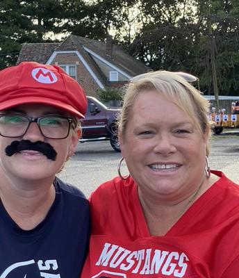 Mario & Mrs. Ingram