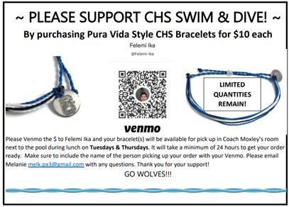 Swim Fundraiser