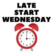 Late Start Wednesday