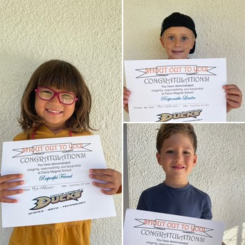 Kinder Shout Out Award Winners